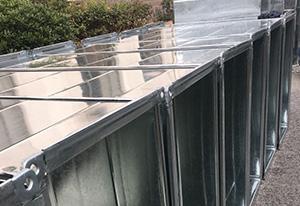 辛迪科技股份不锈钢矩形风管通风降温工程